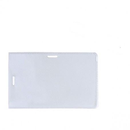 Portadistintivos 50 Fundas PVC, para Pinza y Tira compatible