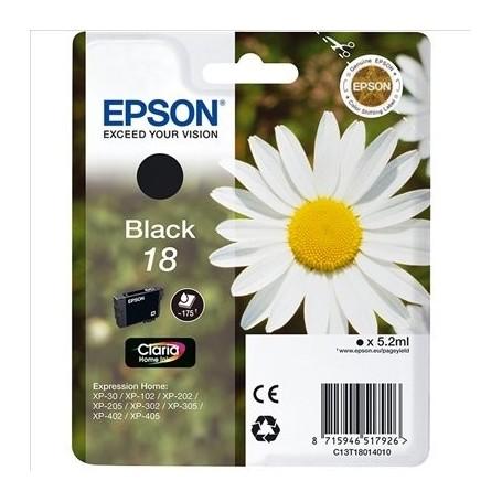 EPSON T1801 (18) NEGRO ORIGINAL
