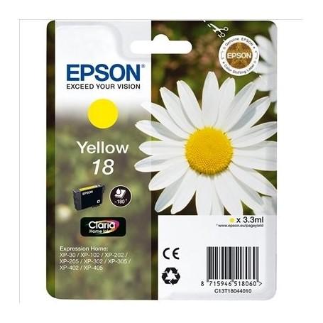 EPSON T1804 (18) AMARILLO ORIGINAL