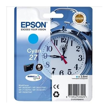 EPSON T2702 (27) CIAN ORIGINAL