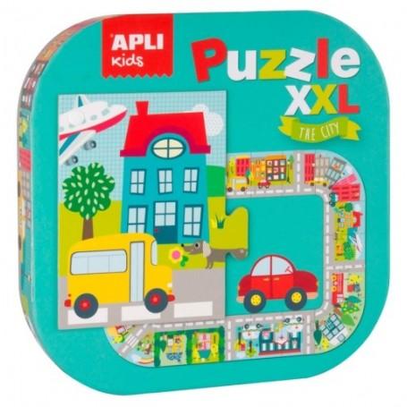 Puzle Xxl La Ciudad Apli Kids 20 Piezas
