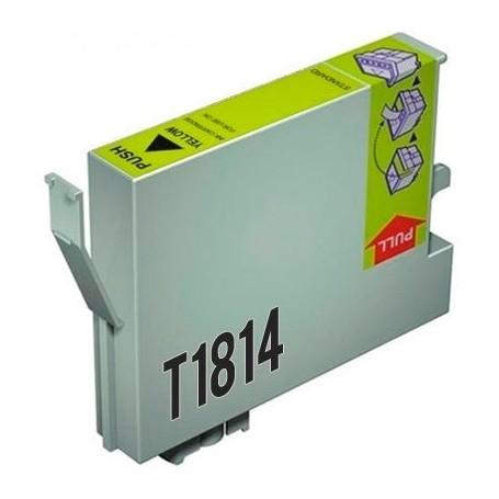 EPSON T1814 (18XL) AMARILLO COMPATIBLE