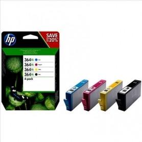 HP 364XL PACK (X4) ORIGINAL