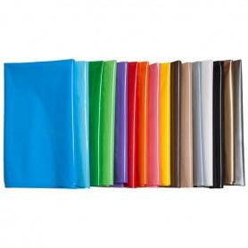 100 Láminas Encuadernación PVC  Negra, A4