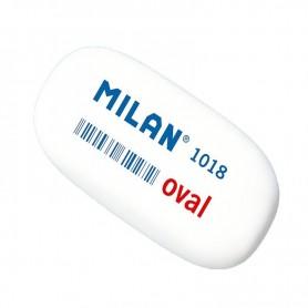 GOMA DE BORRAR MILAN OVAL 1018 BLISTER MIGA DE PAN