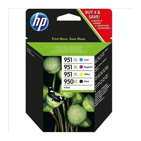 HP 950XL/951XL Pack (x4) Original