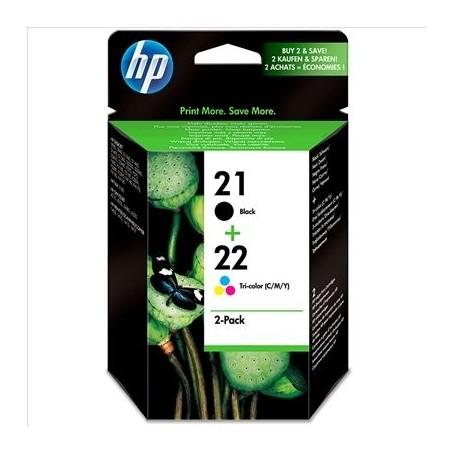 HP 21/22 Pack (x2) Original