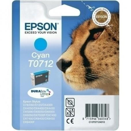 CARTUCHO INKJET EPSON T071240B0 STYLUS CIAN