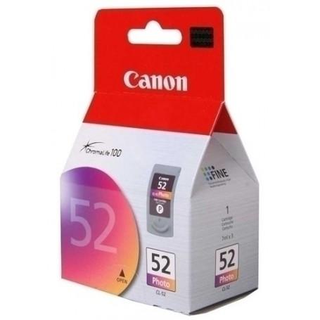 CARTUCHO INKJET CANON CL52 TINTA PHOTO COLOR