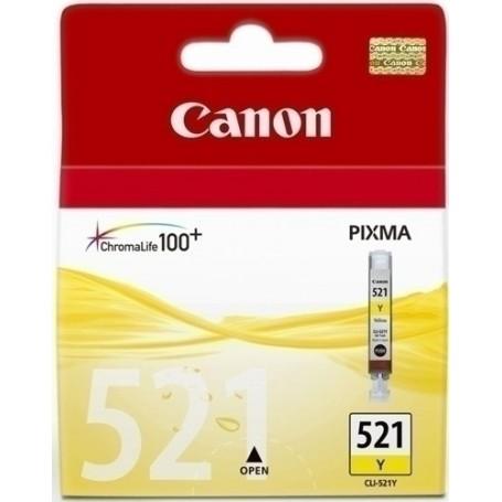 CART.IJ.CANON CLI-521Y AMARILLO PIXMA