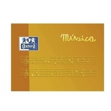 BLOCK DE MUSICA OXFORD A5 10h 5 PENTAG. ANCHO APDO.