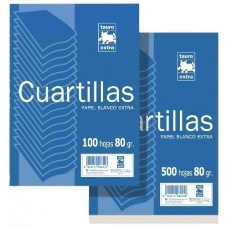 PAPEL A5 ZORRILLA 80g 100h LISO (CUARTILLA)