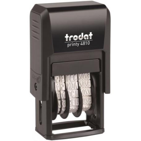 FECHADOR ent.AUT. TRODAT PRINTY 4810 3,8 mm.