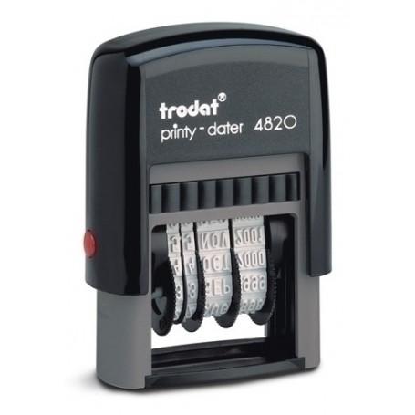FECHADOR ent.AUT. TRODAT PRINTY 4820 4 mm.