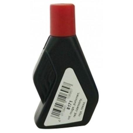 TINTA para NUMERADOR STK 28 ml. ROJO