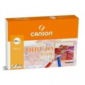 PAQ.250 LAMINAS CANSON A4 LISO+