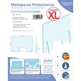 Mampara Protectora Tamaño XL (100 x 75cm)