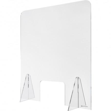 Mampara de metacrilato 70x85cm c/ventana
