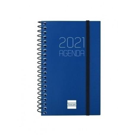 AGENDA (2021) FINOCAM ESPIRAL OPAQUE E3 8x12,7 S/V APAIS. AZUL