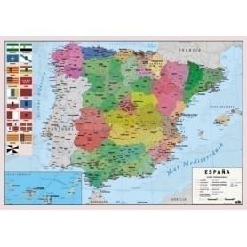 VADE SOBREMESA ERIK ESCOLAR 35x49 MAPA DE ESPAÑA