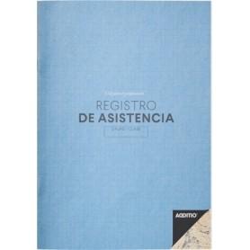CUADERNO PROFESOR ADDITIO REGISTRO DE ASISTENCIA 195x285