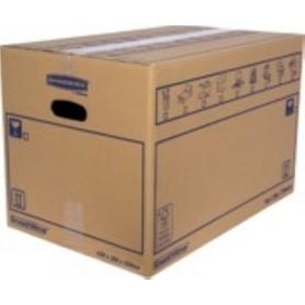 10 CAJAS DE EMBALAR BANKERS BOX MUDANZA CARTON DOBLE TAMAÑO L (500x300x300)