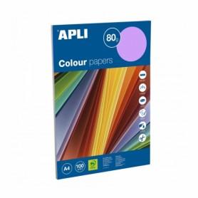 Papel de 80 gr. A4 colores surtidos intenso (100 hojas)