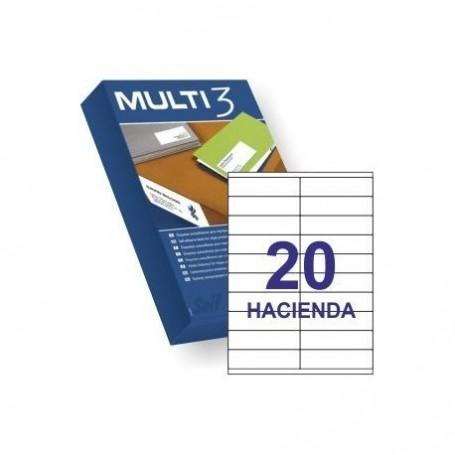 ETIQUETA A4 MULTI3 100 HJS 105 X 29 MM