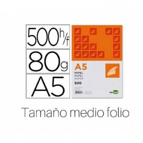 PAPEL A5 80GR 500H BLANCO