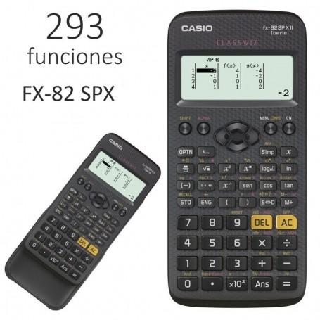 CALCULADORA CIENTIFICA CASIO 10+2 DIGITOS FX-82 SPX