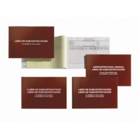 LIBRO SUBCONTRATACION (NUEVO) BILINGÜE EUSKERA/CASTELLANO