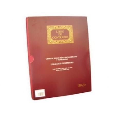 LIBRO CONTABILIDAD A4 100 HOJAS MOV. CONTRATOS
