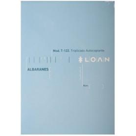 TALONARIO ALBARANES 4º NATU TRIPLI LOAN