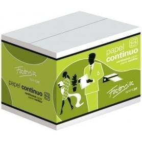 "PAPEL CONTINUO BLANCO 11""x240 1 HOJA 2 CEJAS caja de 2500"