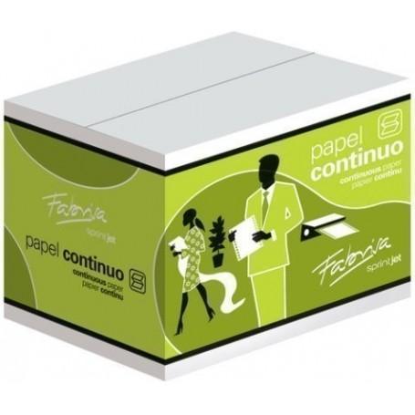 "PAPEL CONTINUO PAUTADO 11""x380 1 HOJA 1 CEJA caja de 2500"