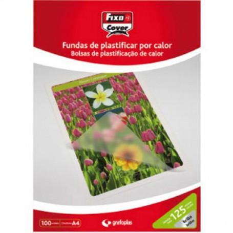 CAJA 100 FUNDAS PLASTIFICAR 154x216 (A5) 125µ