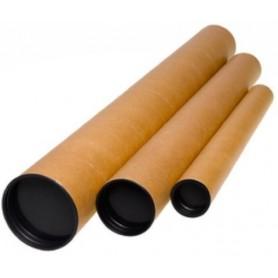 PORTAPLANOS para ENVIO FABRISA TUBO CARTON KRAFT 64x6 cm (A2/A1)
