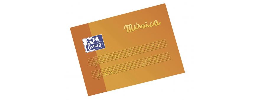 cuadernos de musica escolares al mejor precio,libretas de musica