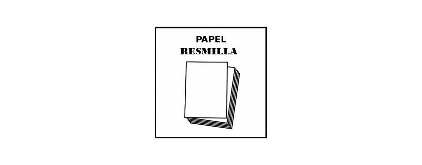 Papel y Resmilla