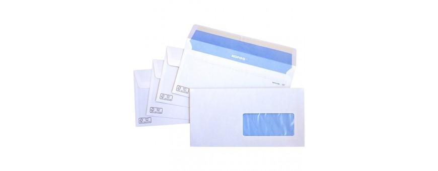sobres y bolsas de envio con tira de silicona, sobres de salrios